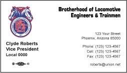 BLET Business Card Template 04