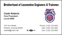 BLET Business Card Template 05