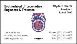 BLET Business Card Template 06