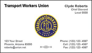 TWU Business Card Template 1