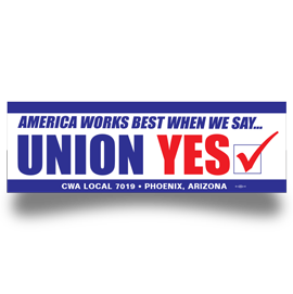 Union Bumper Stickers