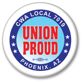 Union Buttons Badges