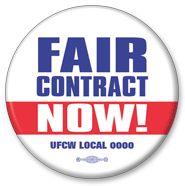 Fair contract now hard hat sticker