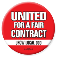 united for a fair contract button